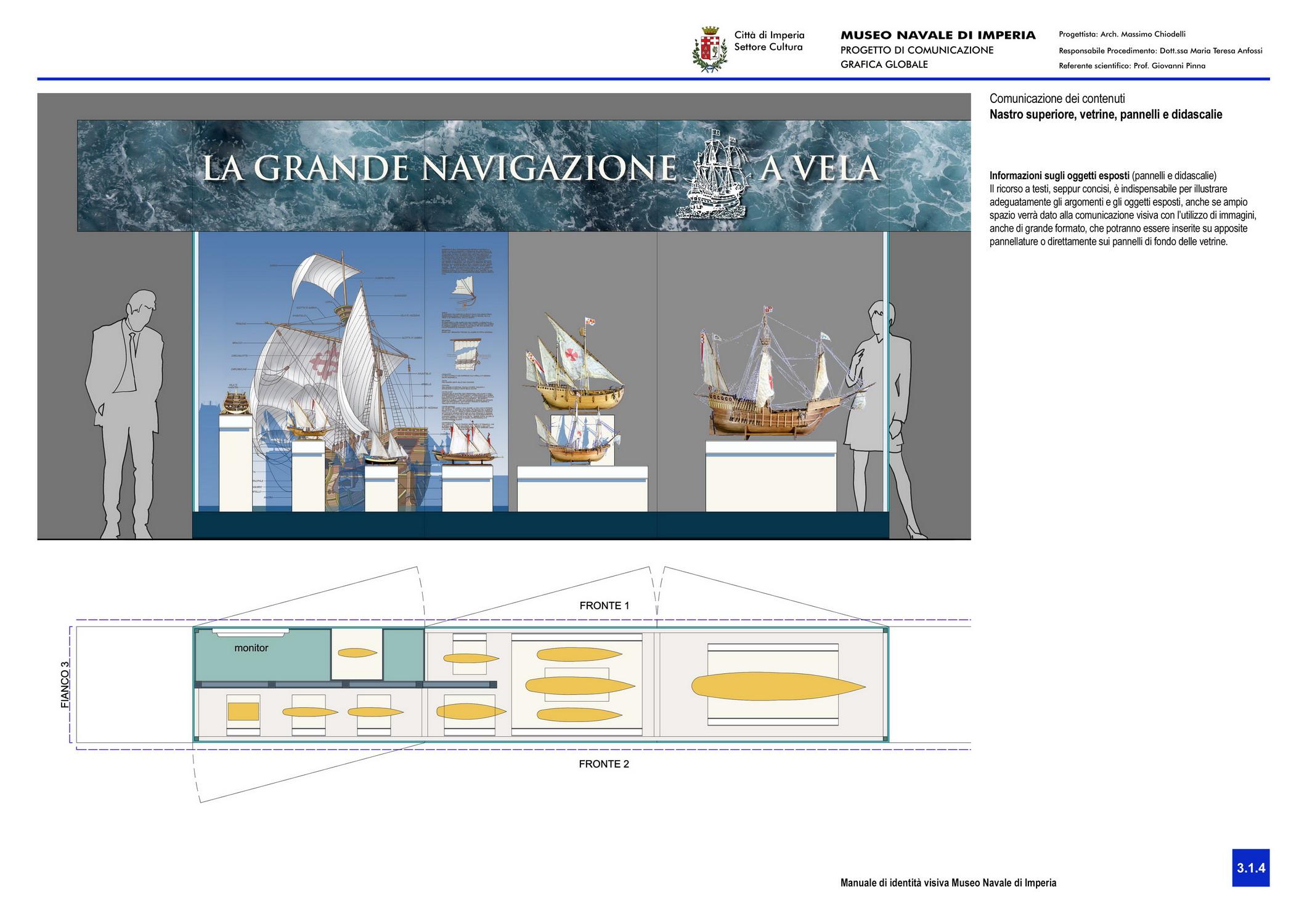 Museo Navale di Imperia - comunicazione dei contenuti