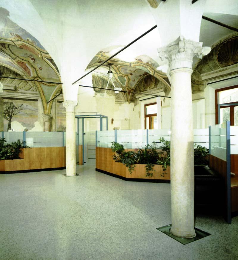 SANPAOLO di Torino - Sede di Mantova (Palazzo Valenti Gonzaga)