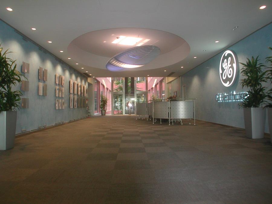 GE Healthcare Milano - ingresso
