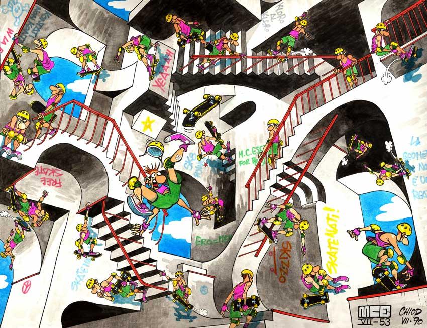 Escher-skate