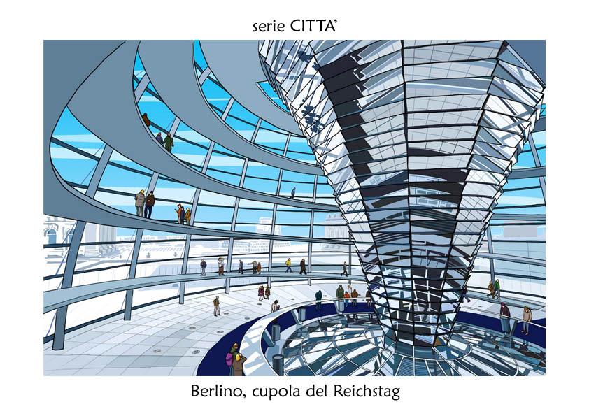 serie CITTA' Berlino Reichstag
