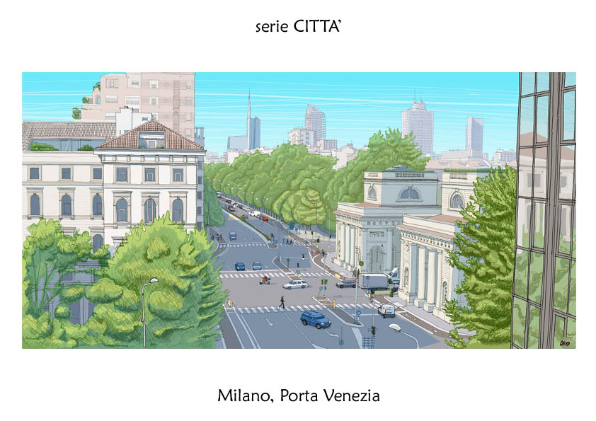 serie CITTA' Milano Porta Venezia