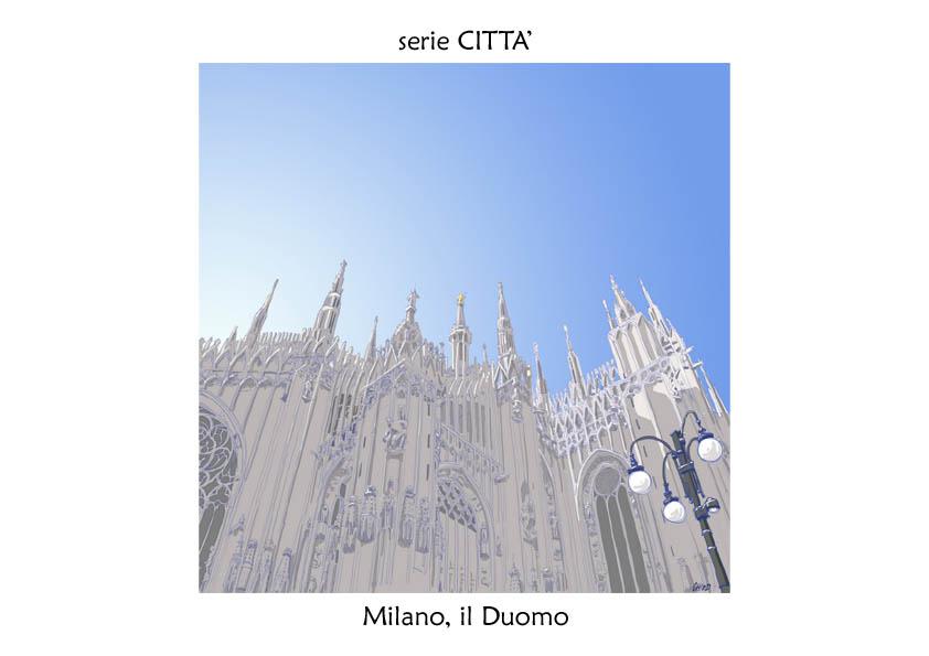 serie CITTA' Milano duomo