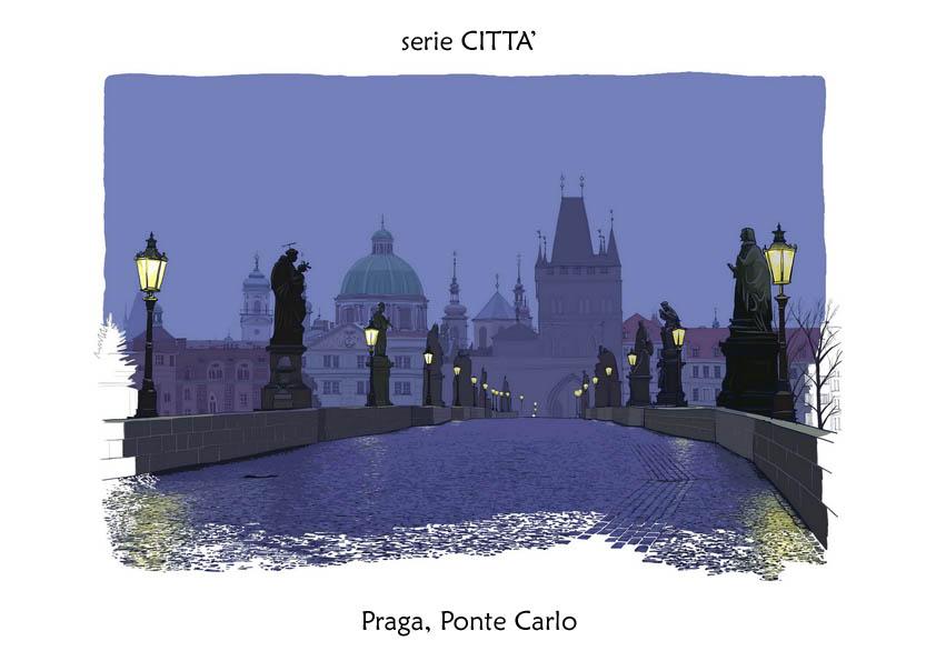 serie CITTA' Praga