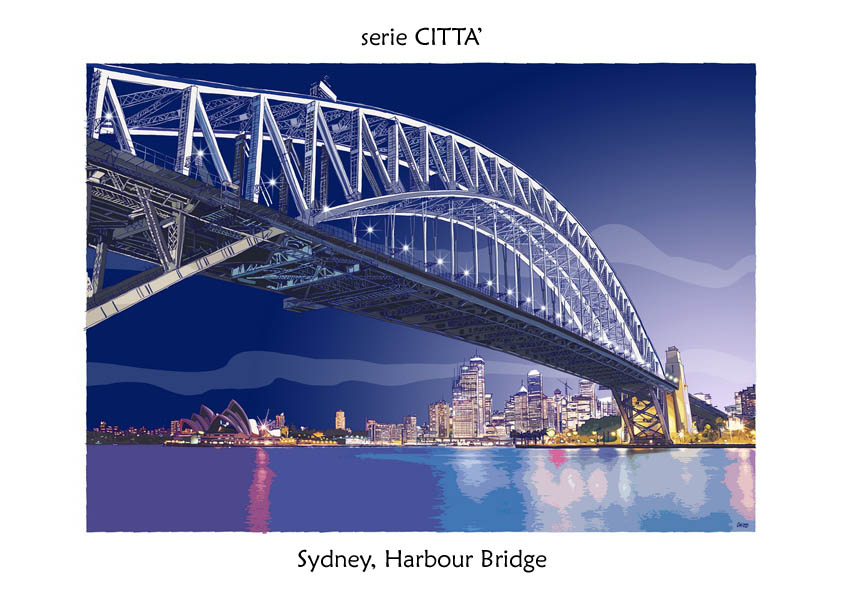 serie CITTA' Sydney Harbour Bridge
