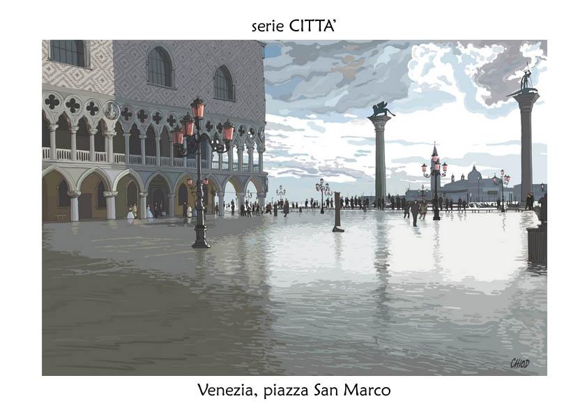 serie CITTA' Venezia San Marco